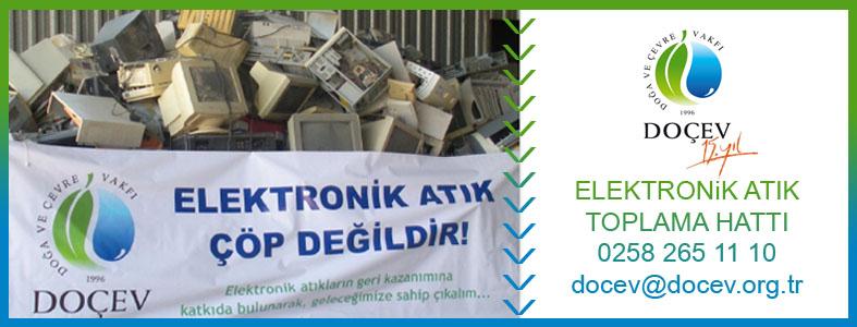 Elektronik atık toplama